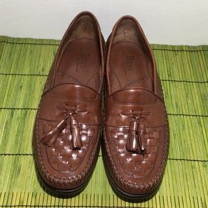 Bass Bellagio Brown Loafers Mens Size 9-1/2M
